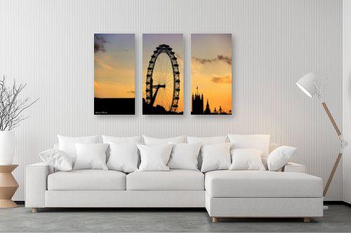 תמונה לסלון - מתן הירש - לונדון איי - מק''ט: 334847