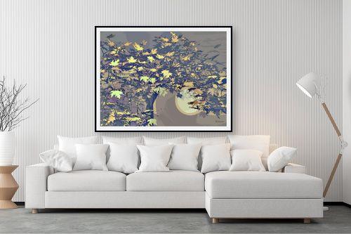 תמונה לסלון - רעיה גרינברג - עץ הדולב - מק''ט: 334887