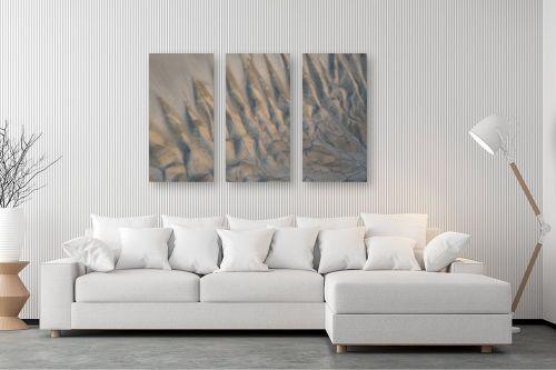 תמונה לסלון - גל מאירי - צורות במדבר - מק''ט: 335091