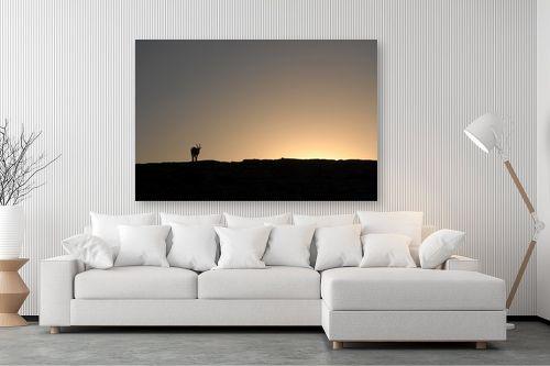 תמונה לסלון - אבנר ירון - יעלים במצפה רמון 3 - מק''ט: 335463