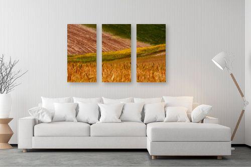 תמונה לסלון - אבנר ירון - שדות שקמה - מק''ט: 335490