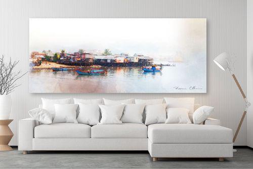 תמונה לסלון - נעמי עיצובים - מזח - מק''ט: 338322