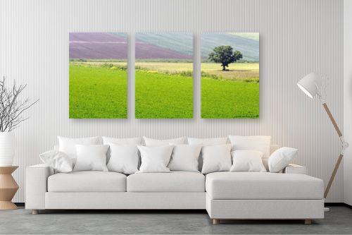 תמונה לסלון - שרית סלימן - שכבות צבע - מק''ט: 40706