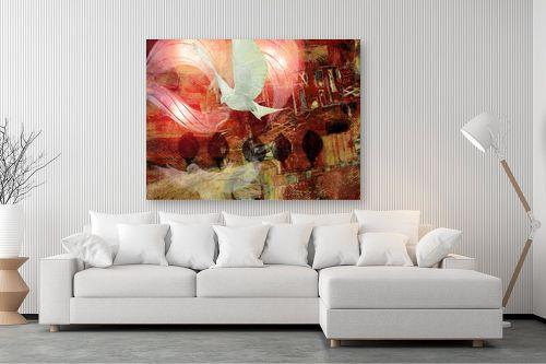 תמונה לסלון - נעמי פוקס משעול - שקשוק הכנף - מק''ט: 57322