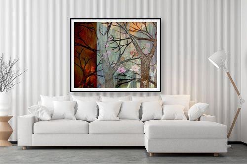 תמונה לסלון - נעמי פוקס משעול - יער קסום - מק''ט: 57345