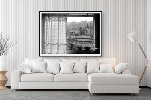 תמונה לסלון - מיכל פרטיג - חלון לעיר - מק''ט: 87440