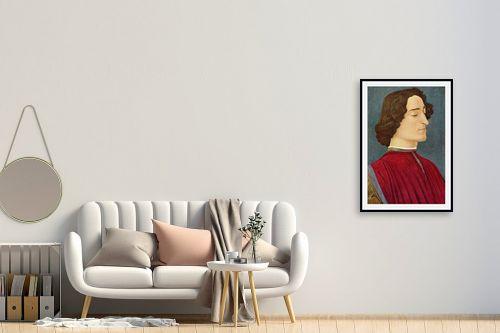 תמונה לחדר כניסה - סנדרו בוטיצ'לי - Botticelli Sandro 038 - מק''ט: 115956