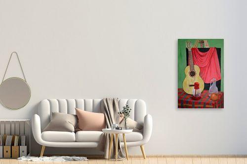 תמונה לחדר כניסה - אסתר חן-ברזילי - גיטרה ספרדית - מק''ט: 120063