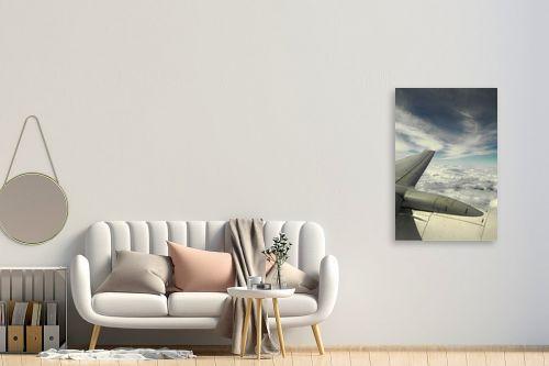 תמונה לחדר כניסה - משה יפה - לחתוך את השמיים - מק''ט: 156968