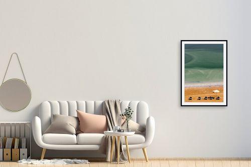 תמונה לחדר כניסה - שרית סלימן - שלווה בים המלח 2 - מק''ט: 177337
