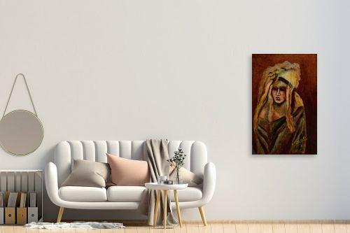 תמונה לחדר כניסה - שרה וולקוב - נערה - מק''ט: 236320