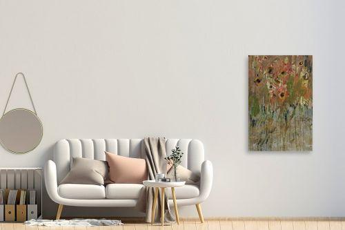 תמונה לחדר כניסה - ליה מלחי - שדה פרחים - מק''ט: 303167