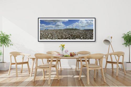תמונה לפינת אוכל - ארי בלטינשטר - Cotton Fields Forever - מק''ט: 209990