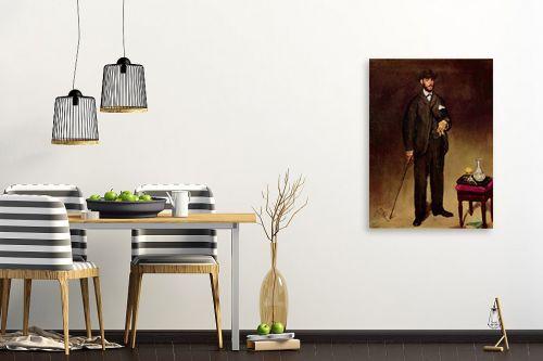 תמונה לפינת אוכל - אדואר מנה - Édouard Manet 038 - מק''ט: 131682