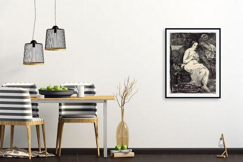 תמונה לפינת אוכל - אדואר מנה - Édouard Manet 059 - מק''ט: 131705
