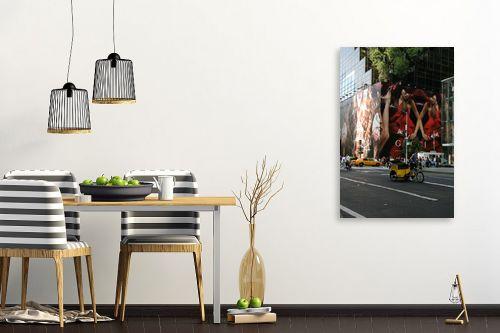 תמונה לפינת אוכל - אלי נגר - אופניים במנהטן - מק''ט: 31056