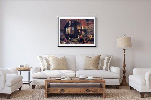 תמונה לסלון - אלברט בירשטאדט - Albert Bierstadt 047 - מק''ט: 124650