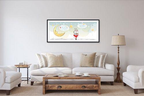 תמונה לסלון - נעמי עיצובים - מאוהבים - מק''ט: 157614