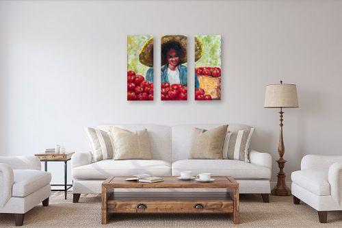 תמונה לסלון - שולי חיימזון - מוכרת העגבניות - מק''ט: 158547
