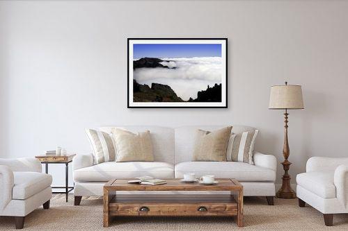 תמונה לסלון - ענת שיוביץ - קערה של עננים - מק''ט: 163704
