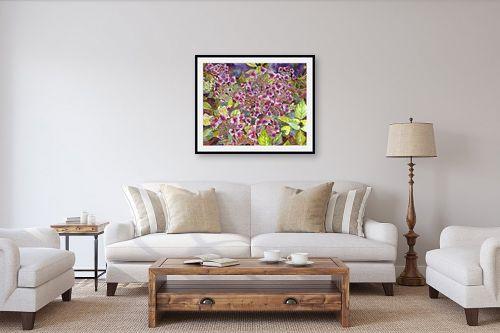 תמונה לסלון - חיה וייט - פרחים בפארק - מק''ט: 213145