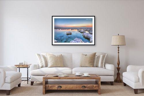 תמונה לסלון - איזבלה אלקבץ - זריחה בים המלח - מק''ט: 266732