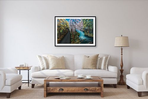 תמונה לסלון - מזל בוכריס - והיה כעץ שתול על פלגי מים - מק''ט: 316340