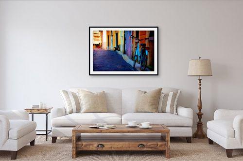 תמונה לסלון - אורית גפני - סמטה ציורית - מק''ט: 325110