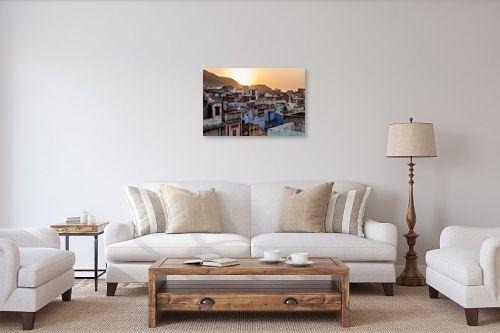 תמונה לסלון - אור פריאס - סצינת הגגות - מק''ט: 327230
