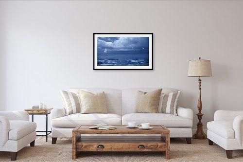 תמונה לסלון - אורית גפני - לשוט בעננים - מק''ט: 332693
