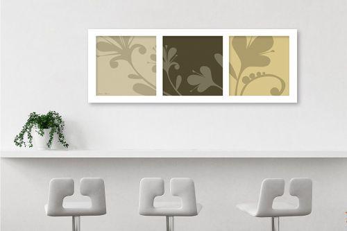 תמונה לבר - נעמי עיצובים - פרחי סתיו - מק''ט: 160732