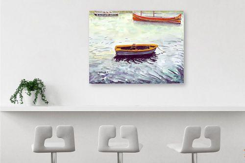 תמונה לבר - חיה וייט - סירות דייגים - מק''ט: 213274