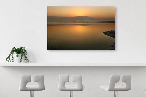 תמונה לבר - איזבלה אלקבץ - זריחה בים המלח - מק''ט: 268926