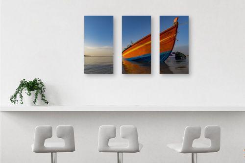 תמונה לבר - שי וייס - סירת דייג  - מק''ט: 294541