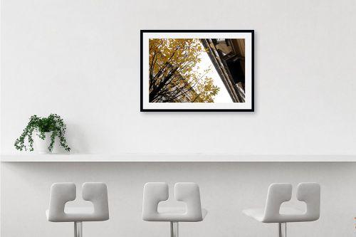 תמונה לבר - מירית אלון הלוי - Autumn in the City - מק''ט: 332721