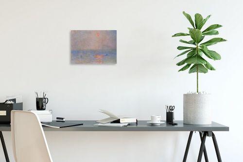 תמונה לפינת עבודה - קלוד מונה - Claude Monet 048 - מק''ט: 115808