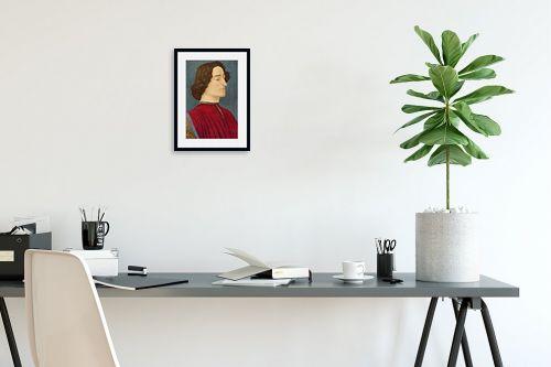 תמונה לפינת עבודה - סנדרו בוטיצ'לי - Botticelli Sandro 038 - מק''ט: 115956