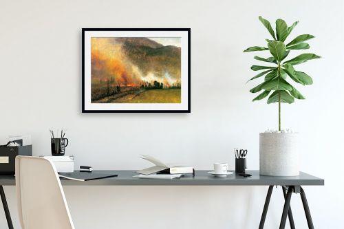 תמונה לפינת עבודה - אלברט בירשטאדט - Albert Bierstadt 062 - מק''ט: 124669