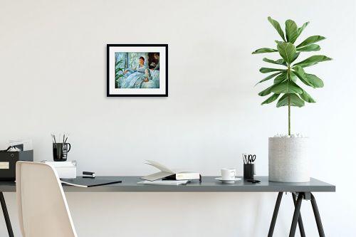 תמונה לפינת עבודה - אדואר מנה - Édouard Manet 058 - מק''ט: 131704