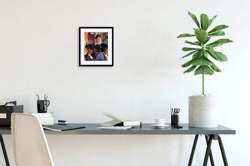 תמונה לפינת עבודה - אדואר מנה - Édouard Manet 061 - מק''ט: 131709