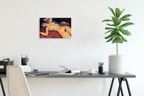 תמונה לפינת עבודה - אמדאו מודיליאני - Amedeo Modiglian 011 - מק''ט: 131720
