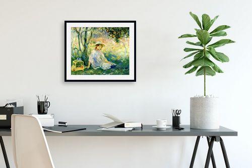 תמונה לפינת עבודה - ברת מוריזו - Morisot Berthe 064 - מק''ט: 131792