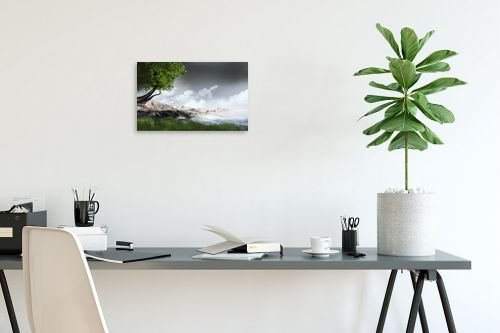 תמונה לפינת עבודה - Red סטודיו - mountains - מק''ט: 132115
