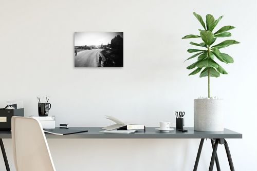 תמונה לפינת עבודה - דוד לסלו סקלי - צומת נווה אילן 1948 - מק''ט: 144462