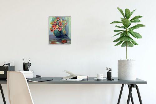 תמונה לפינת עבודה - רינה יניב - סידור פרחים - מק''ט: 169768