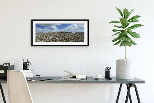 תמונה לפינת עבודה - ארי בלטינשטר - Cotton Fields Forever - מק''ט: 209990
