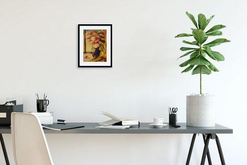 תמונה לפינת עבודה - שרה וולקוב - אגרטל פרחים - מק''ט: 236285