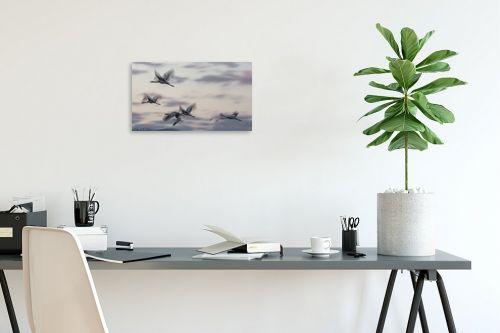 תמונה לפינת עבודה - דורית ברקוביץ - מעוף העגורים - מק''ט: 298659