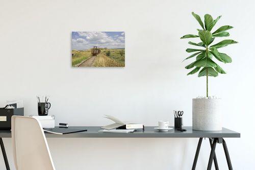 תמונה לפינת עבודה - אורי ברוך - רכבת העמק - סוף הדרך - מק''ט: 301013