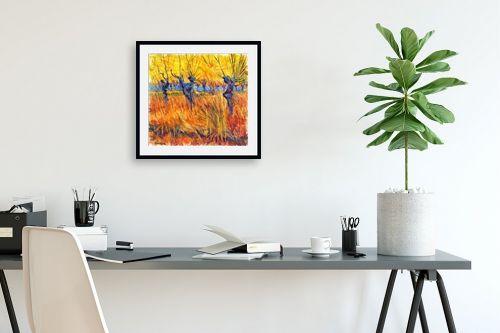 תמונה לפינת עבודה - בן רוטמן - כמו צמח בר,,, - מק''ט: 302297